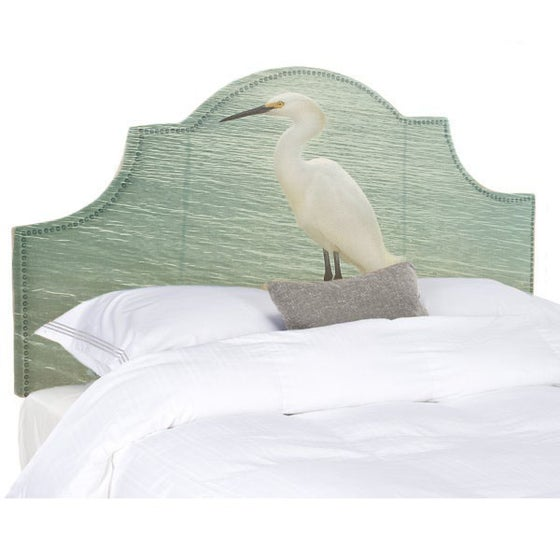 Image of The Egret Queen Headboard