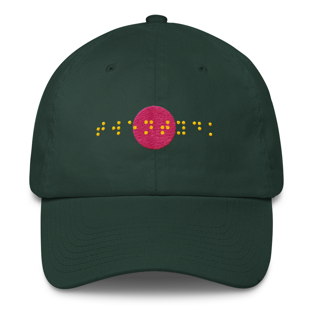 Image of BRAILLE Hat - Forest Green