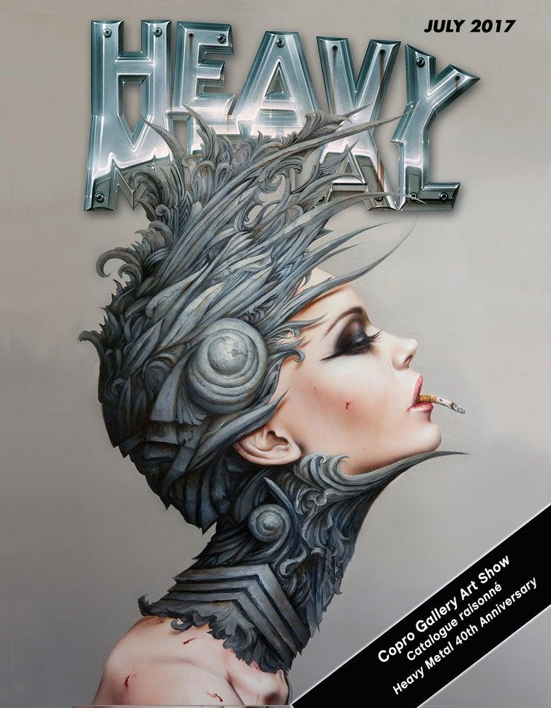 Image of Heavy Metal Art Show catalog