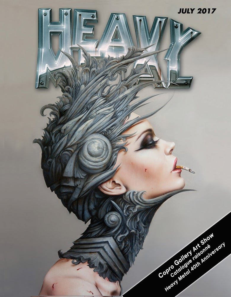 Image of Heavy Metal Art Show catalog