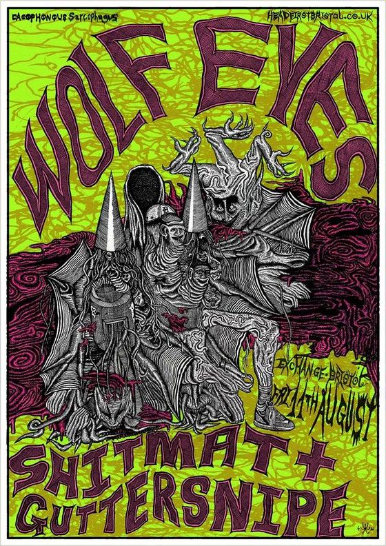 Image of Wolf Eyes, Shitmat & Guttersnipe