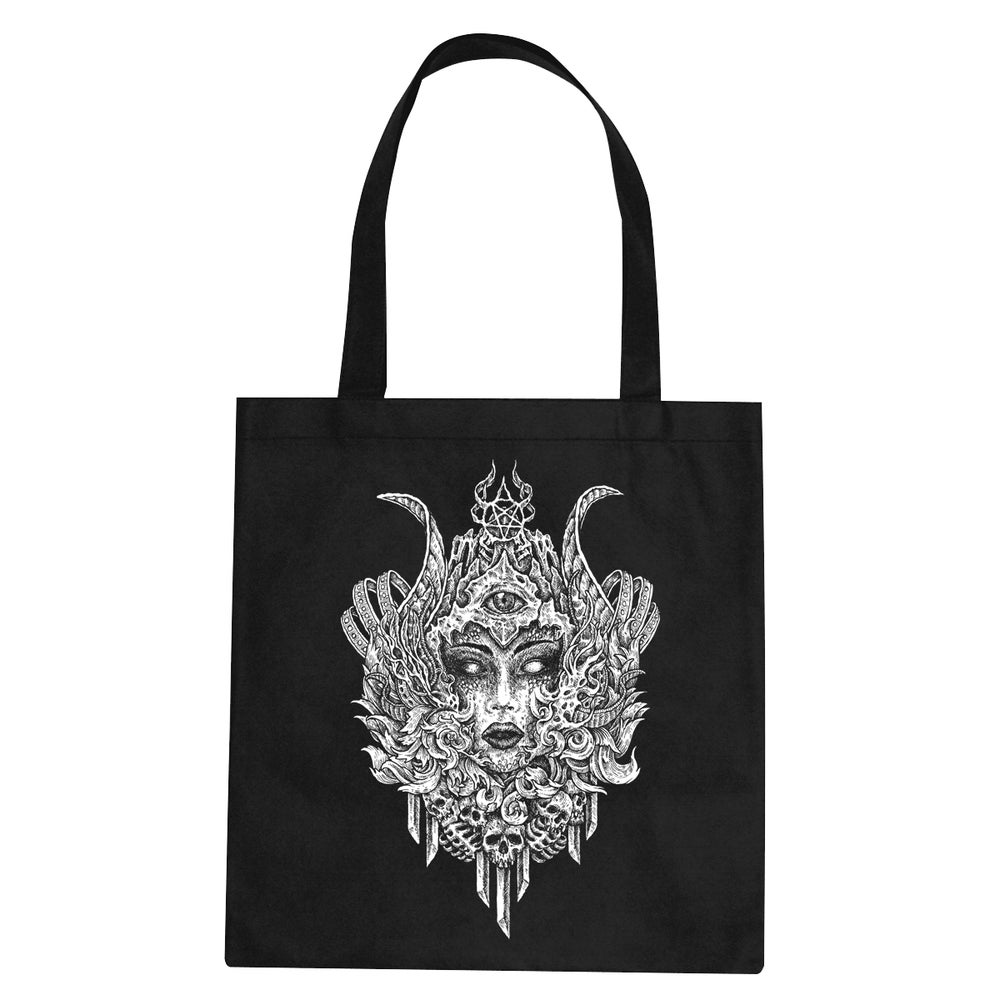 Image of QUEEN OF DAMNED - TOTE BAG