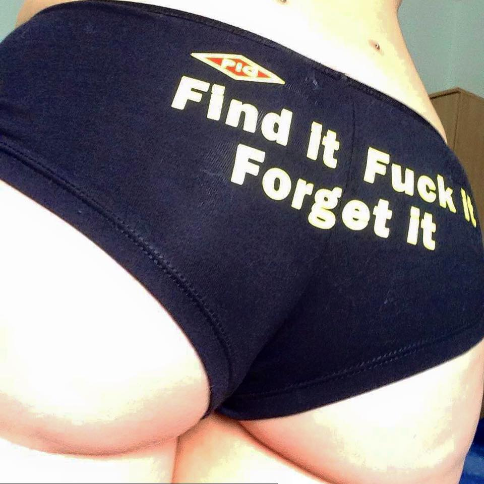 Image of Find it, Fuck it, Forget it OFFICIAL <PIG> Panty