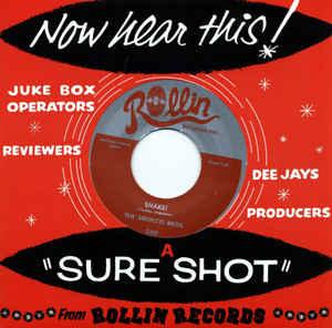 "Image of 7"" The Sirocco Bros : Shake / Davy Jones Locker."