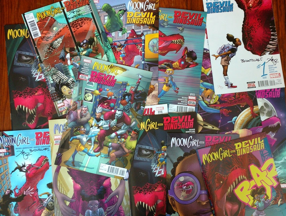 Image of Moon Girl & Devil Dinosaur BACK ISSUES