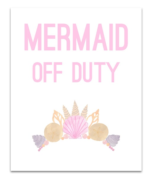 Image of Mermaid Off Duty