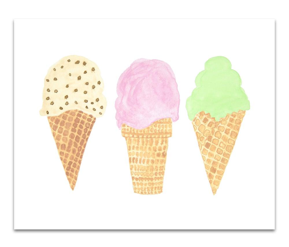 Image of Ice Cream Cones