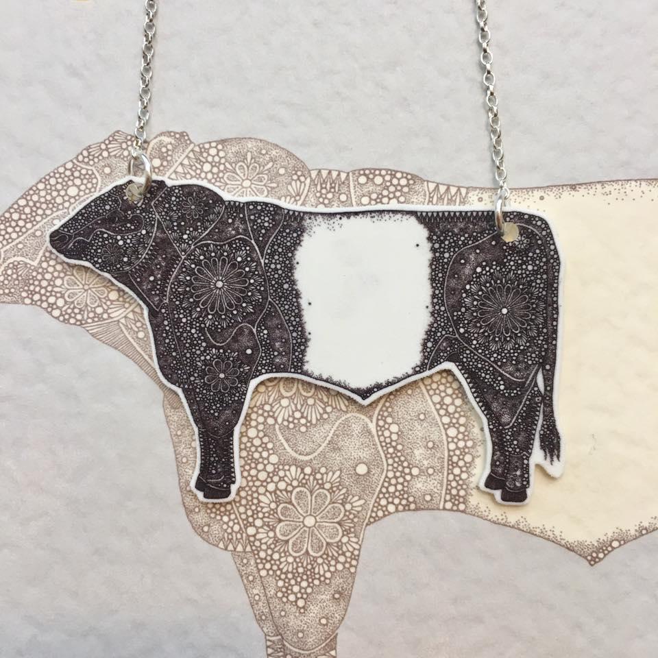 Image of Beltie Necklace