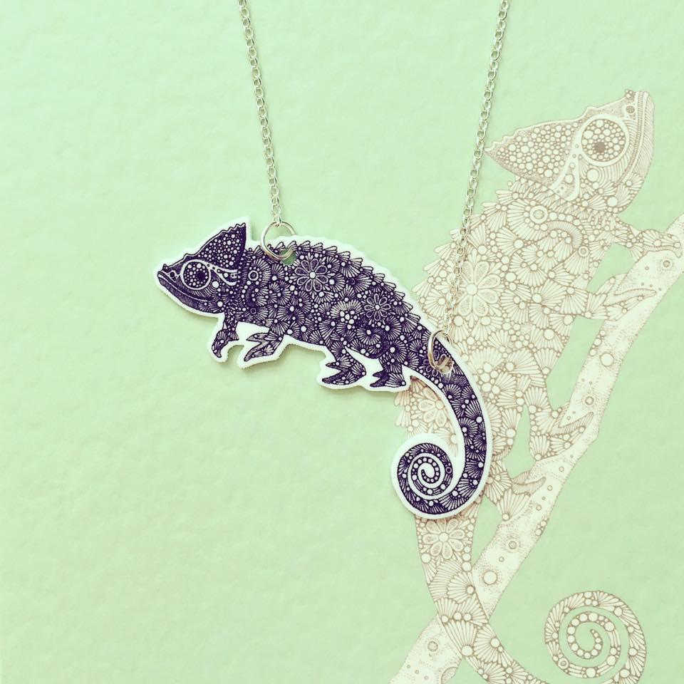 Image of Chameleon Necklace