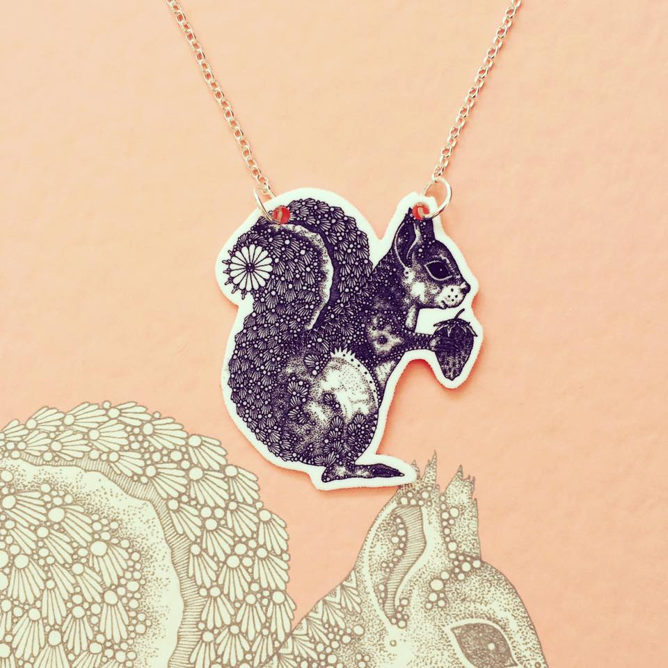 Image of Squirrel Necklace