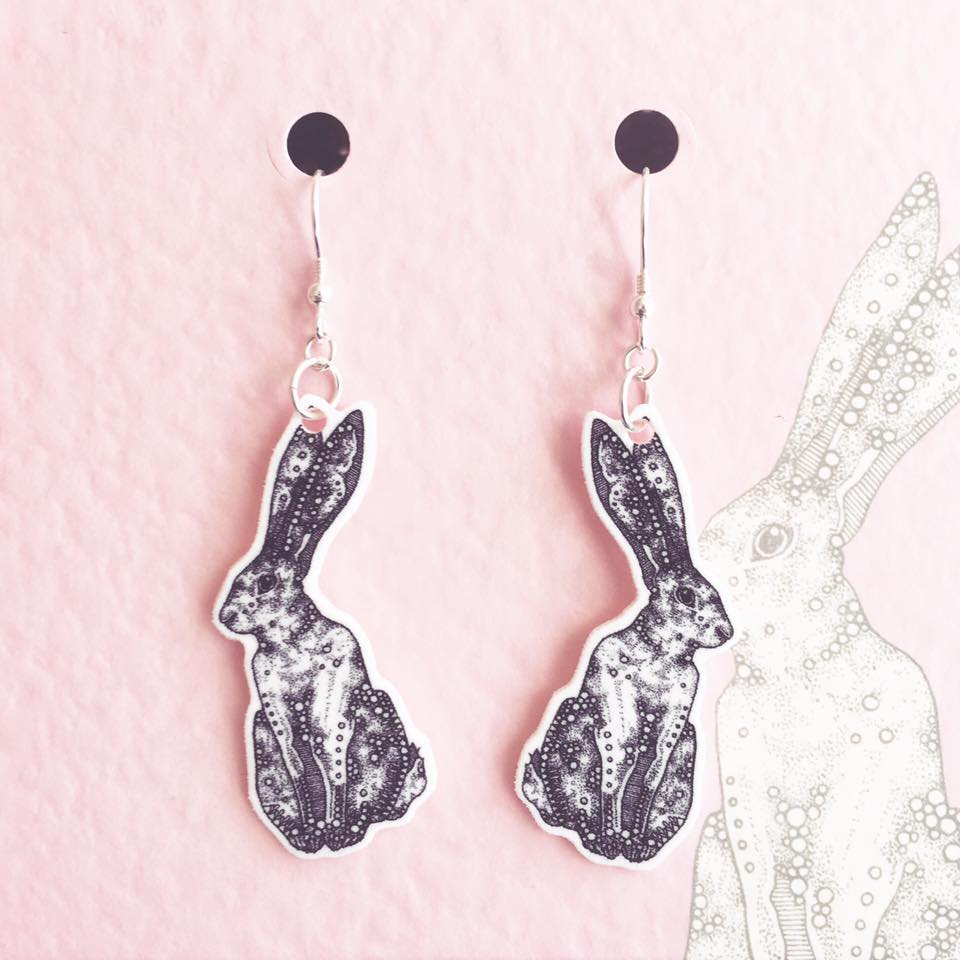 Image of Hare Earrings