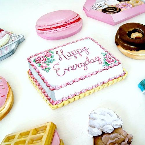 Image of Happy Everyday mini plaque