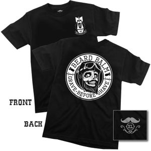 "Image of GBS BEARD BALM T-SHIRT ""back print"" T-SHIRT"