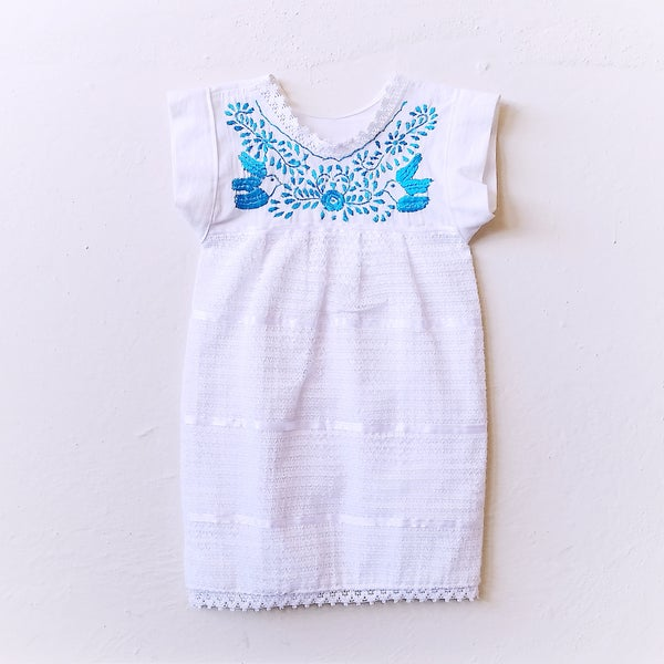 Image of SUMMER SALE Bluebird Dress ORGANIC