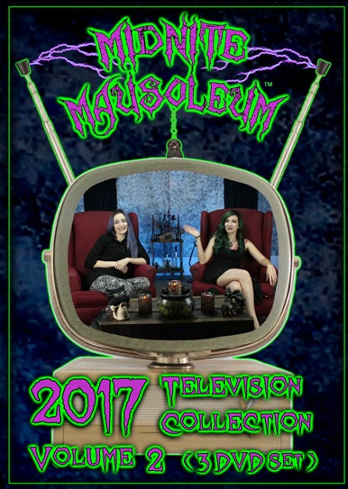Image of Midnite Mausoleum TV2017 Volume 2 (3 DVD set)