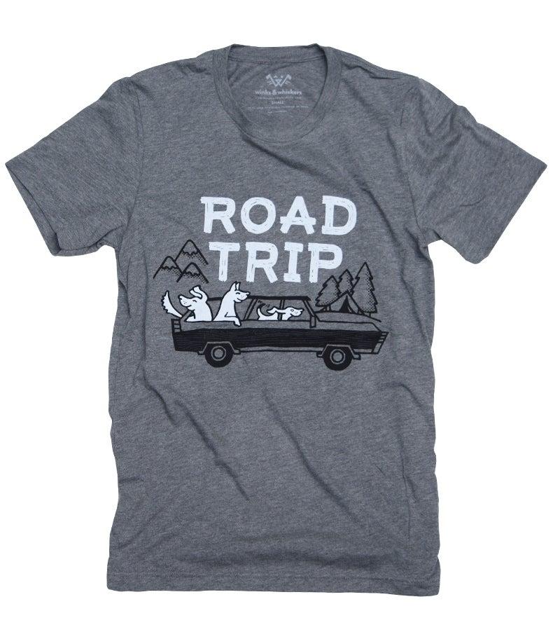 Image of Road Trip Tee - Grey Triblend