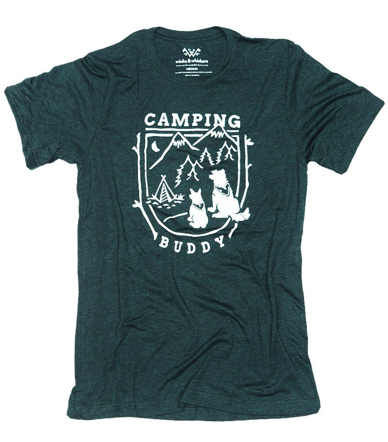 Image of Camping Buddy Tee - Emerald