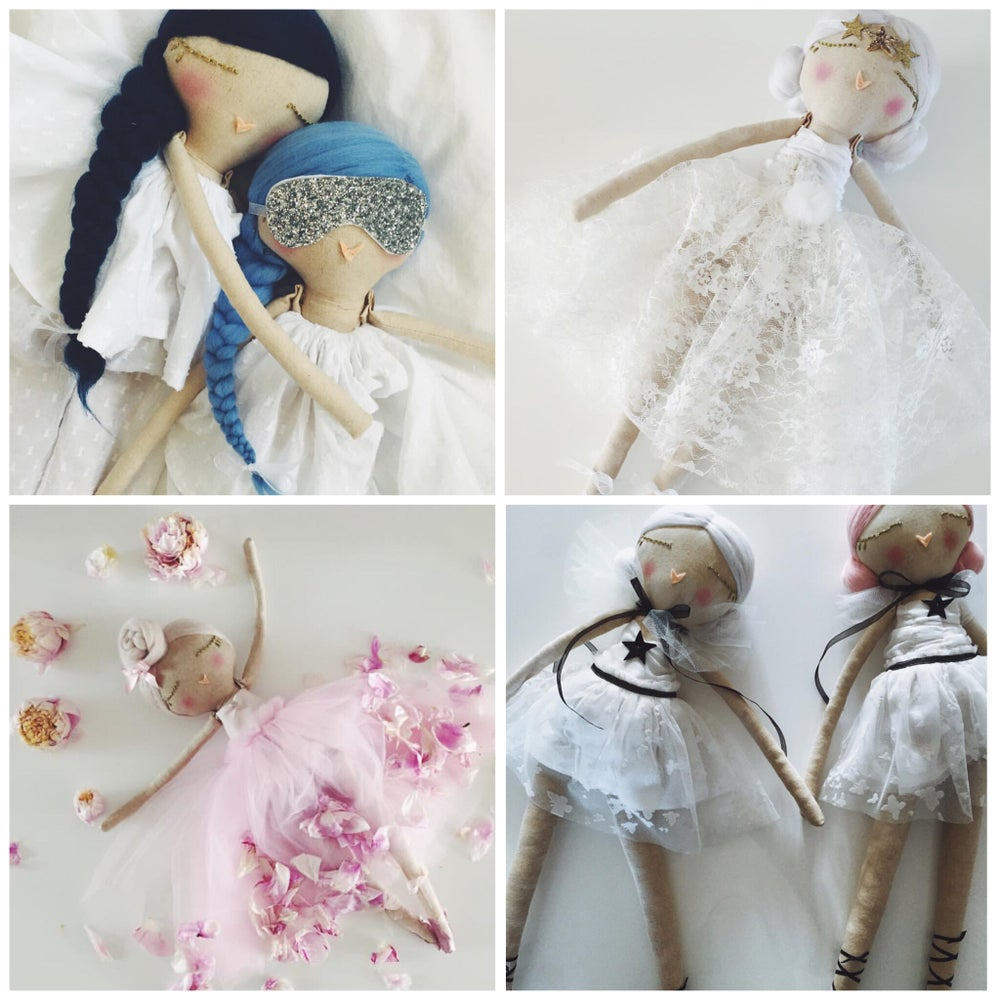 Image of CUSTOM MADE : OOAK handcrafted cloth doll