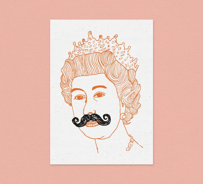 Image of Queen - Card