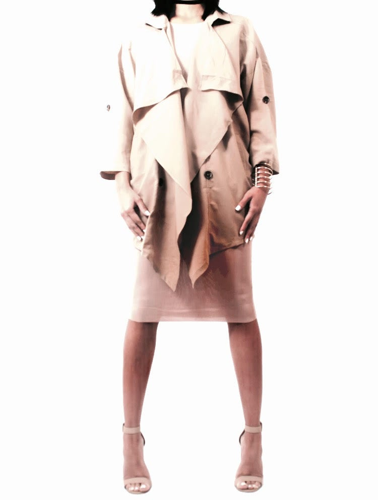 Image of Draped Trench