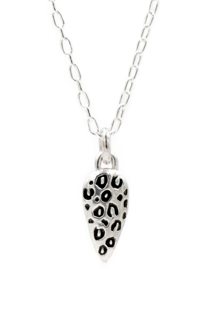 Image of Snow Leopard Drop Necklace