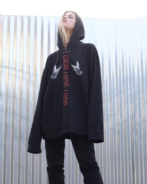 "Image of ""SHINE"" INDUSTRIAL SAFETY PIN HOODIE"