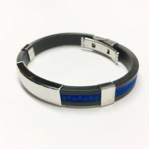Image of Luxury Thin Blue Line Bracelet