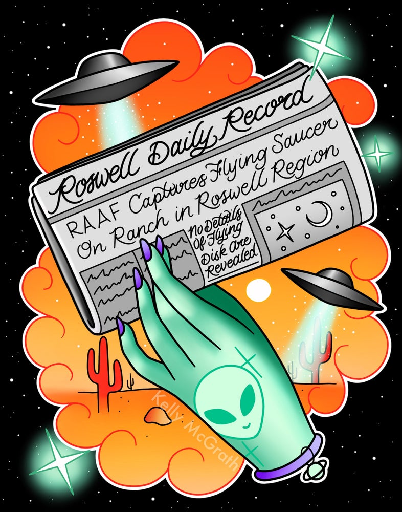 Image of 'Roswell' Print