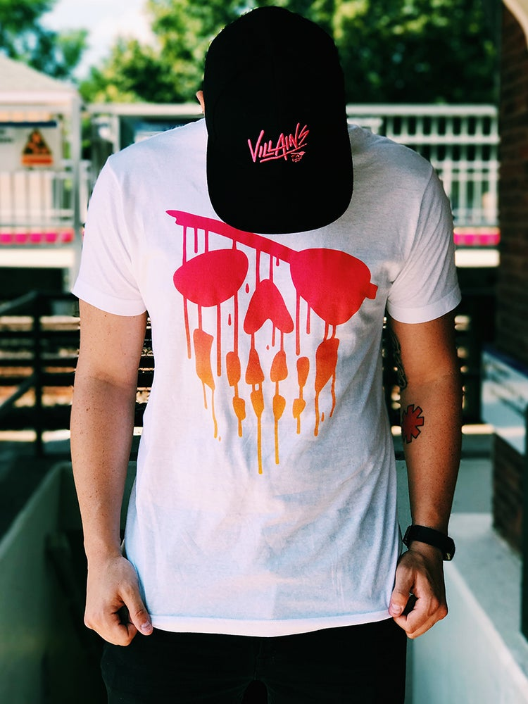 Image of Drip Logo Tee Sunset