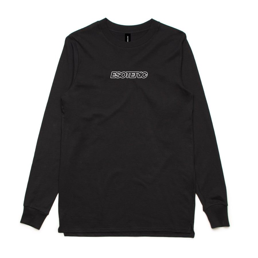 "Image of ""Everyday"" Longsleeve Tee (Black)"