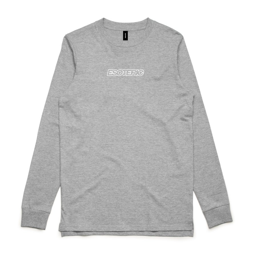 "Image of ""Everyday"" Longsleeve Tee (Grey Marle)"