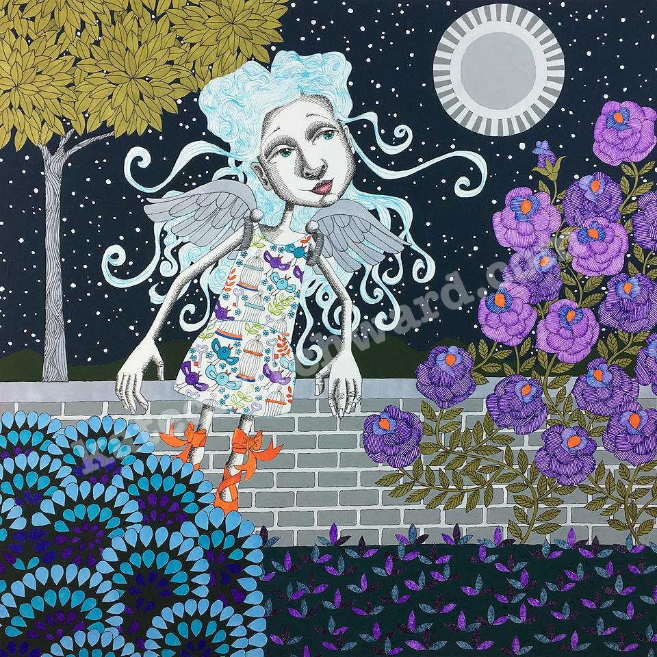 Image of Goddess #24 - Limited Edition print (A3)