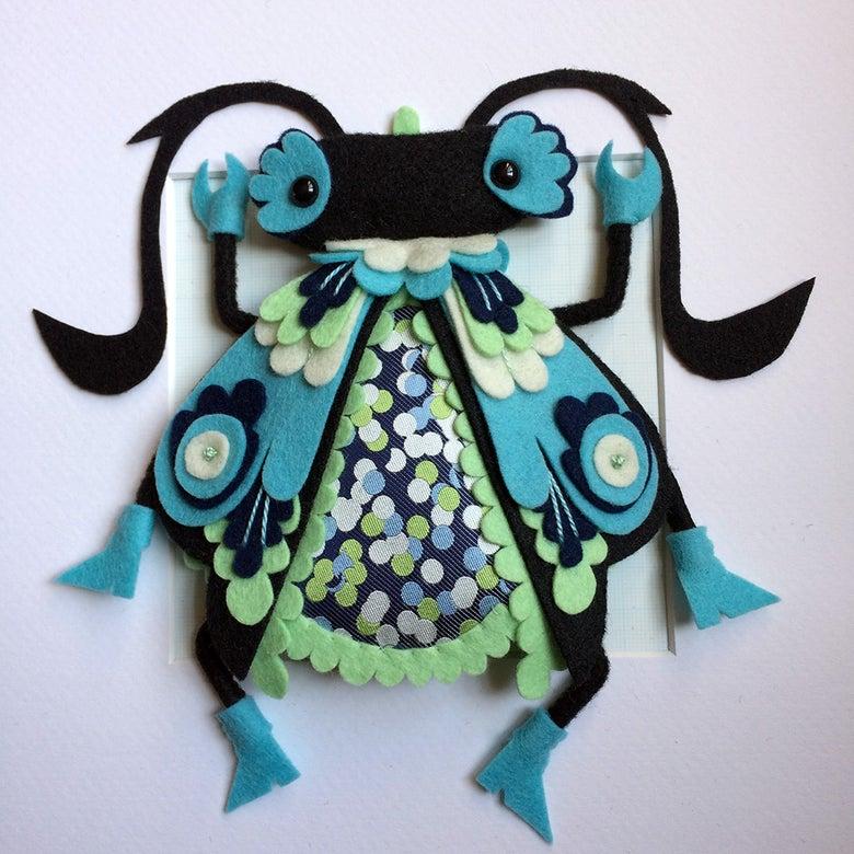 Image of Mint-tipped Musashino Beetle