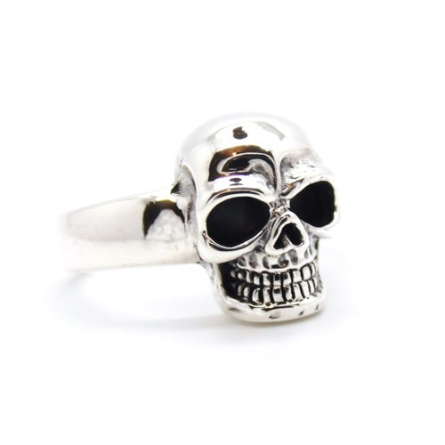 Image of Sterling Silver Skull Ring