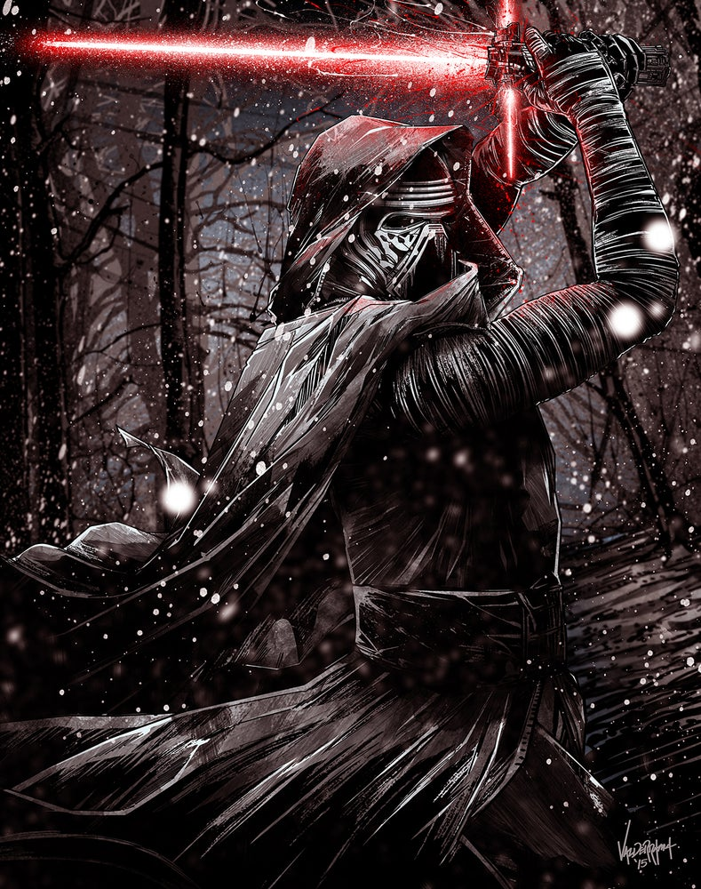 """Image of """"Kylo Ren"""" - Inspired by Star Wars - The Force Awakens"""