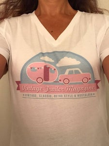 Image of Ladies White T Shirt