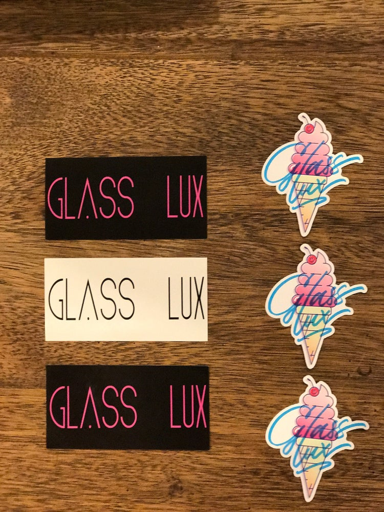 Image of Glass Lux Sticker Pack