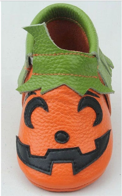 Image of Halloween Soft Sole Moccasins