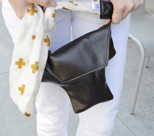 Image of Scarf Strap Sparkle Gold Cross