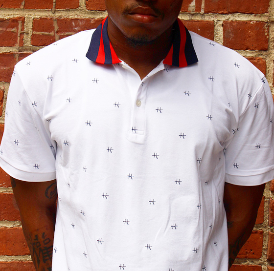 Image of Signature H ( all over print ) polo