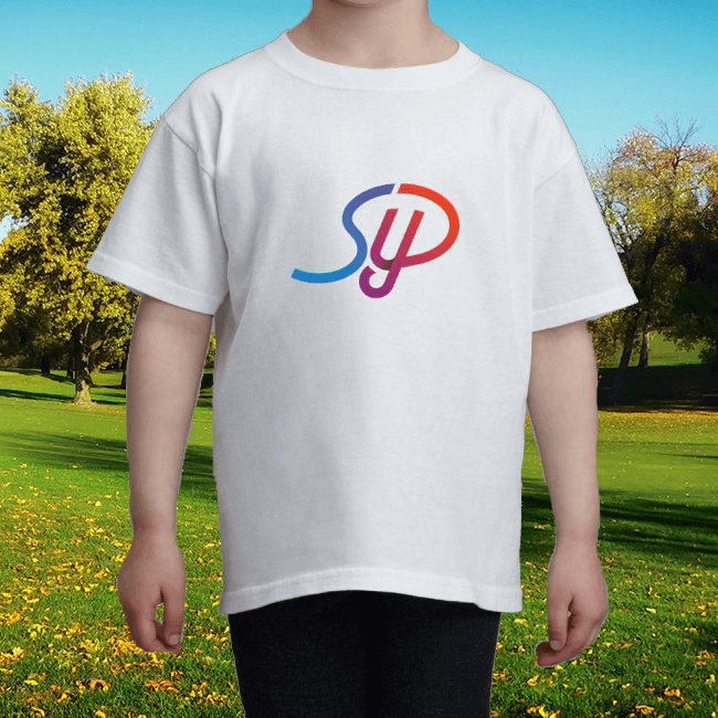 Image of Kids Large Colour Logo T-Shirt