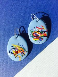 Image of Confetti in pale blue small