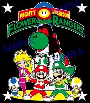 Image of MIGHTY MUSHROOM FLOWER RANGERS