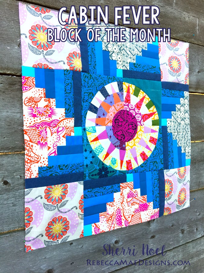 Image of Cabin Fever ~ Block of the Month Quilt Pattern