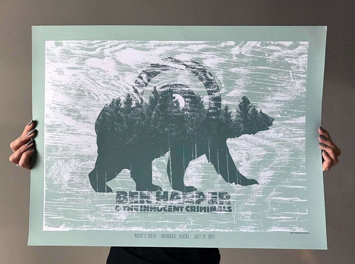 Image of Ben Harper & The Innocent Criminals, Alaska Poster