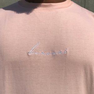 Image of Salmon Dip Dye Tee
