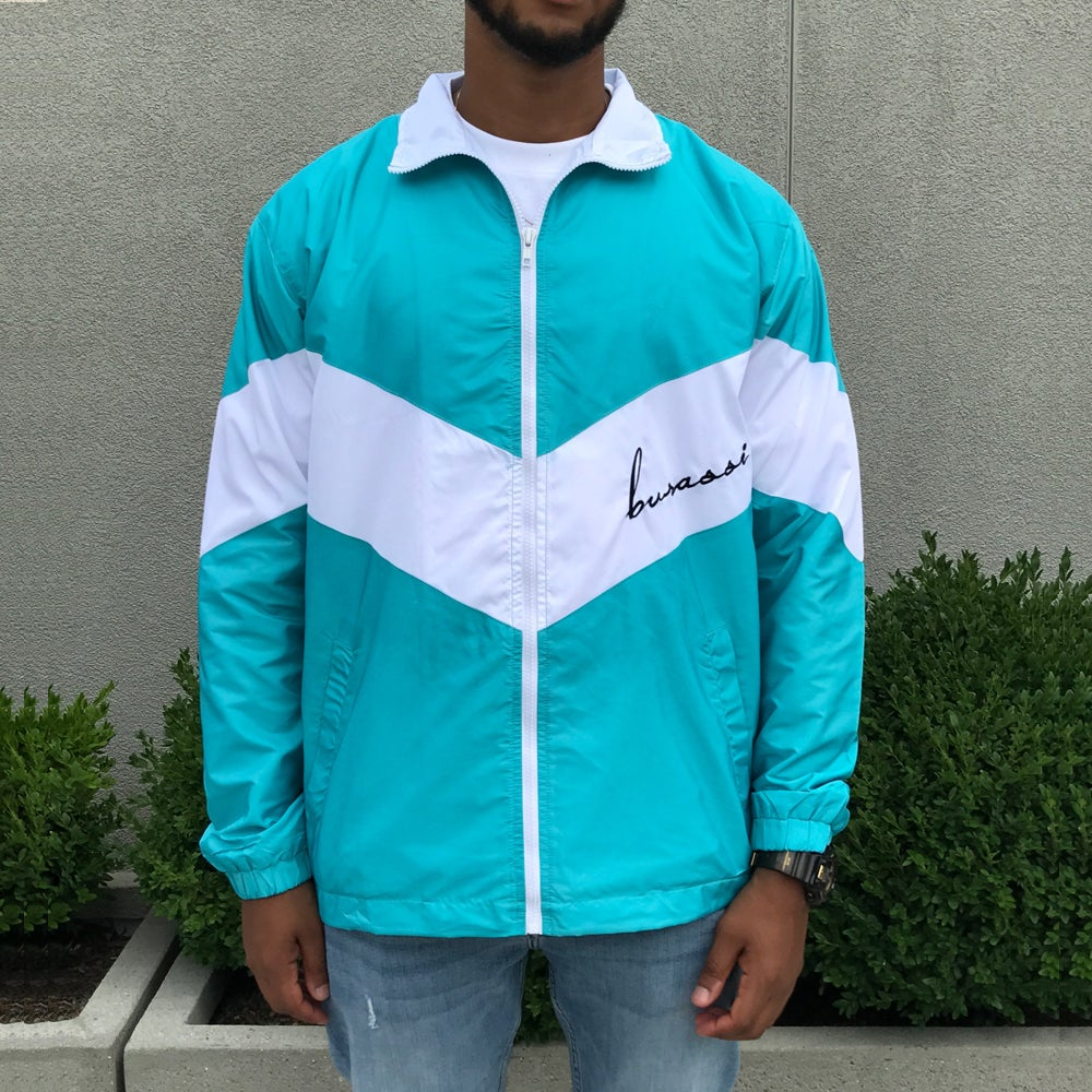 Image of Mint Windbreaker