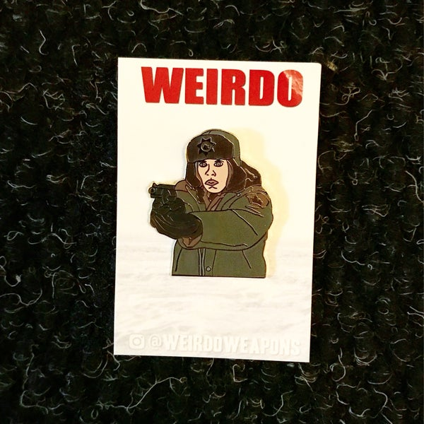 Image of Fargo - Marge Gunderson pin