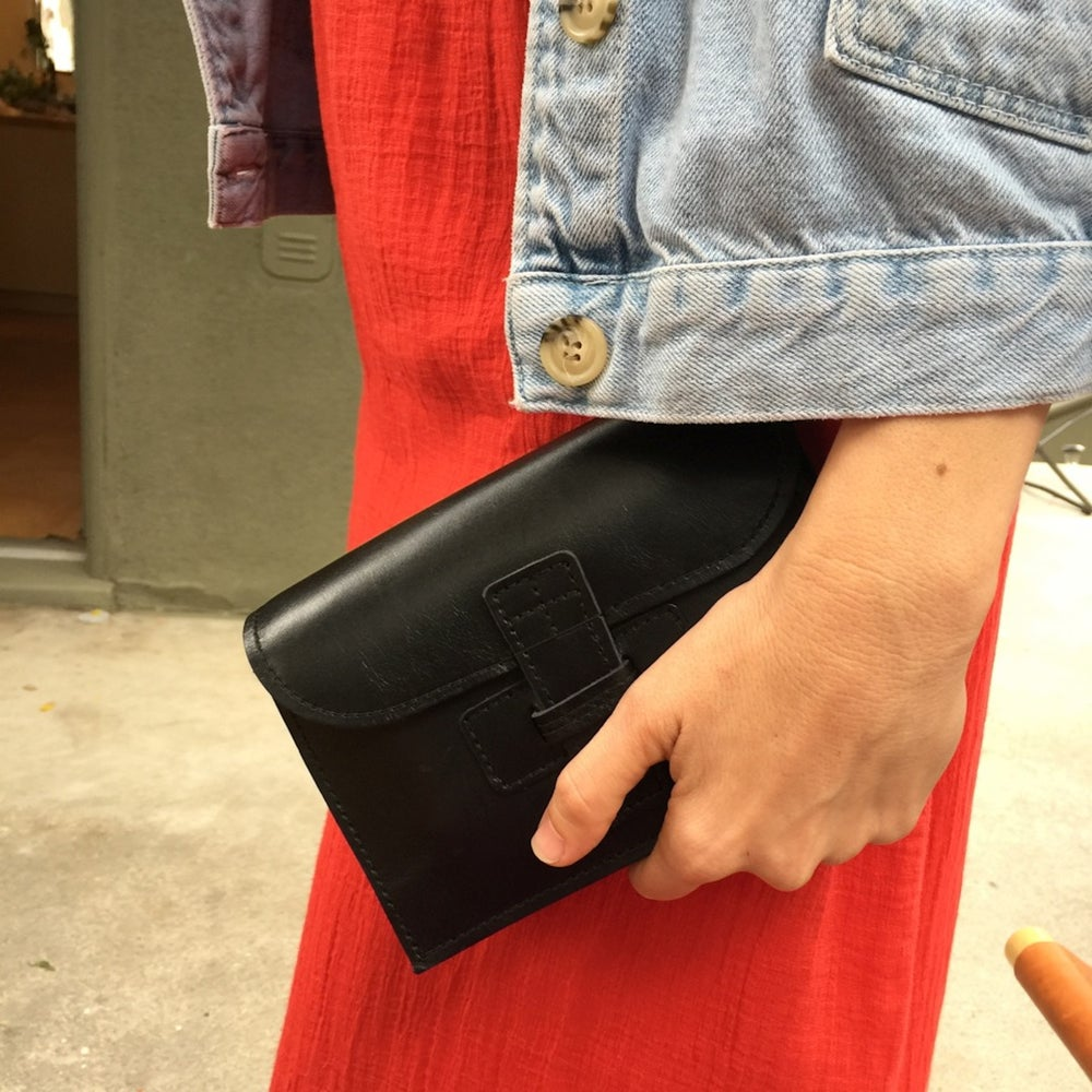 Image of NEW!!! BELT SAC - A Clutch with a removable Belt in Natural, White and Blac
