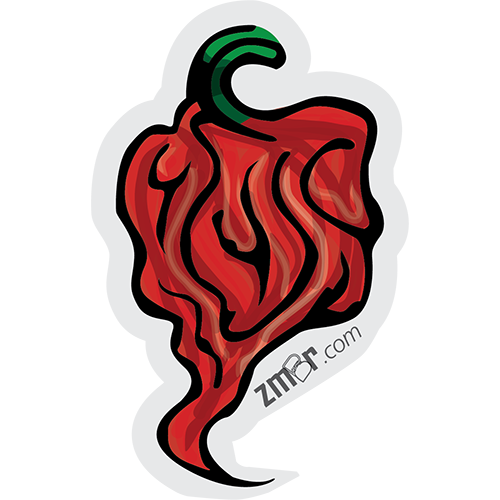 "Image of Reaper Pepper 3"" Vinyl Sticker"